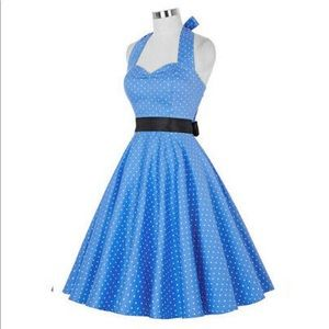 Dresses & Skirts - Vintage Style 1950s Halter Dress
